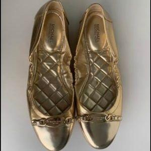 Michael michael kors flat ballerina shoes
